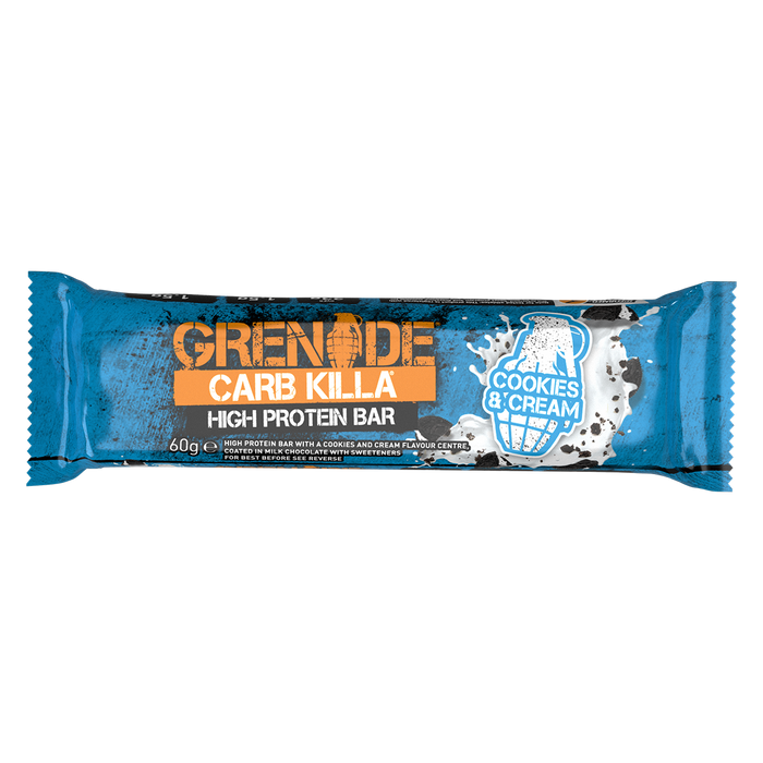 Grenade Cookies & Cream Carb Killa protein bar 60g