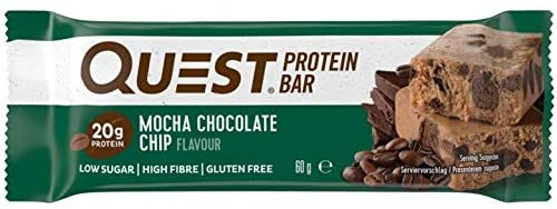 Quest Mocha Chocolate Chip flavour Protein bar 60g