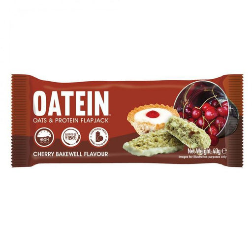 Oatein Cherry Bakewell Oats & Protein Flapjack 40g
