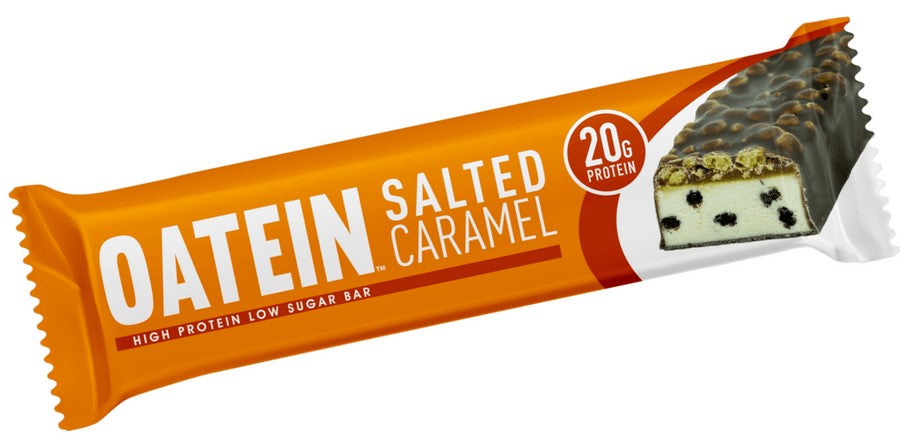 Oatein Salted Caramel Low Sugar Protein Bar 60g