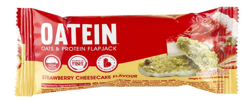 Oatein Strawberry Cheesecake Oats & Protein Flapjack 75g