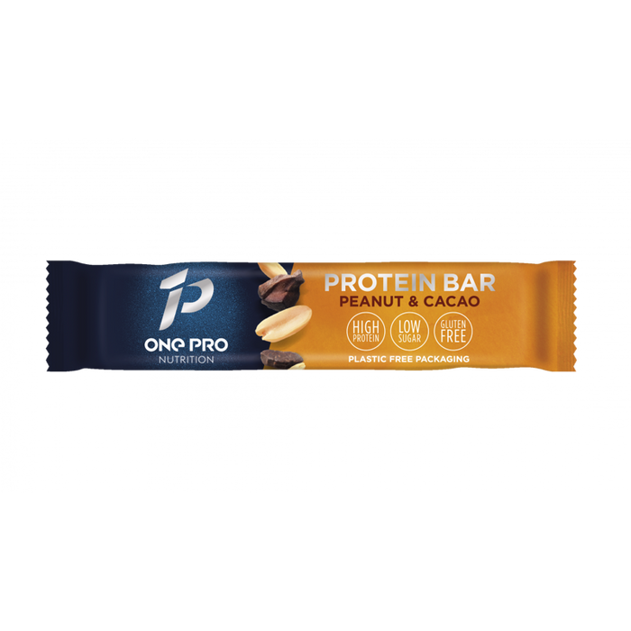 One Pro Nutrition Peanut & Cacao Protein Bar 57g - Case of 12 Multisave