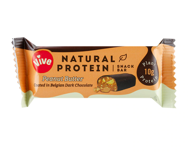 Vive Peanut Butter Dark Chocolate Protein Snack bar 49g