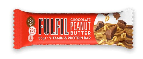 Fulfil Chocolate Peanut Butter Protein & Vitamin bar 55g