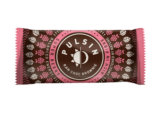 Pulsin Super Berry Raw Choc Brownie 50g