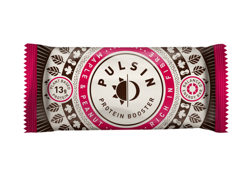 Pulsin Maple & Peanut Protein Booster Bar 50g