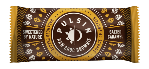 Pulsin Salted Caramel Raw Choc Brownie 50g