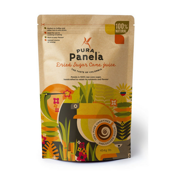 Pura Panela Dried Sugar Cane 454g