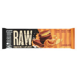 Warrior Raw Chocolate Peanut Butter flavour Protein Flapjack 75g