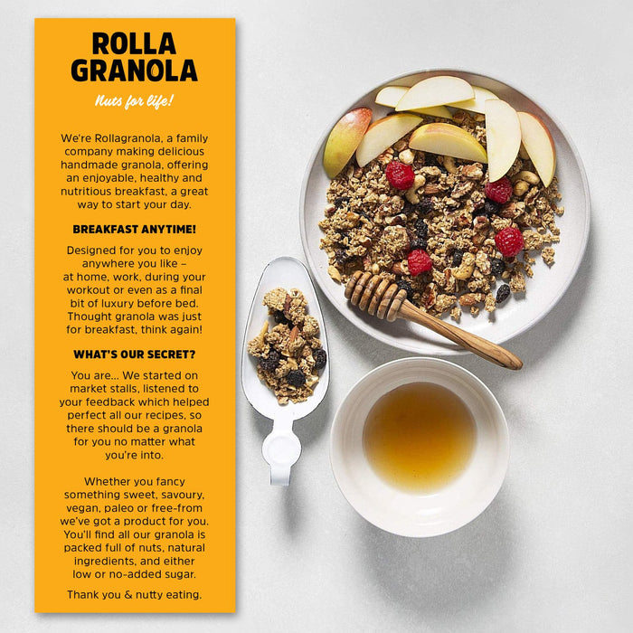 Rollagranola Pecan Maple Twist Oat Granola 350g