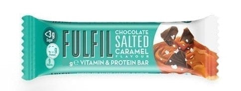 Fulfil Chocolate Salted Caramel Vitamin & Protein bar 55g (Best Before Date: 08/01/2021)