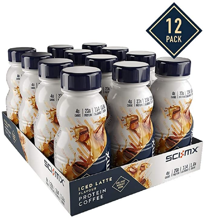 Sci-MX Iced Latte flavour Protein Coffee Drink 250ml - Case of 12 Multisave