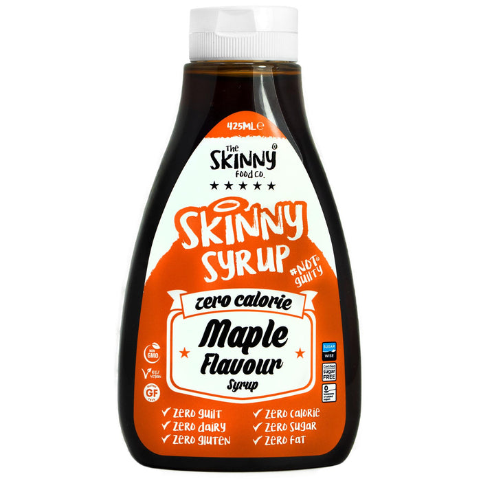 The Skinny Food Co. Skinny Syrup, Maple Syrup flavour  425ml