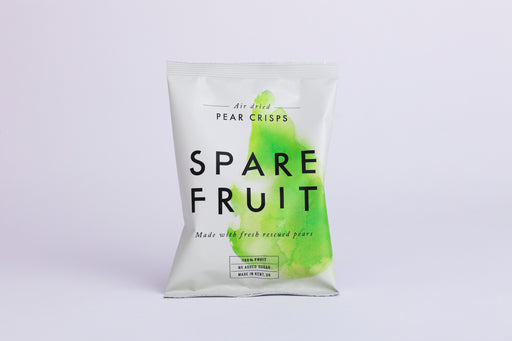 Spare Fruit Pear Crisps 22g (Best Before Date: 30/04/2019)