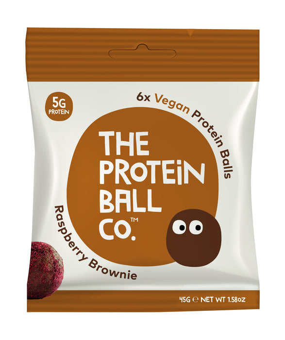 Protein Ball Co. Raspberry Brownie Protein Balls 45g