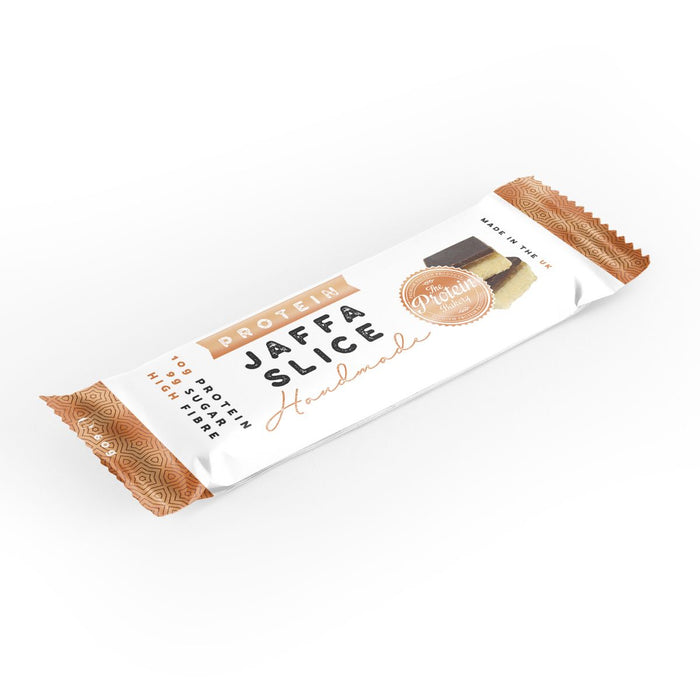 The Protein Bakery Jaffa Slice 60g - Case of 10 Multisave