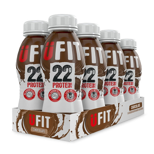 UFIT Protein Drink Chocolate 310ml - Case of 8 Multisave