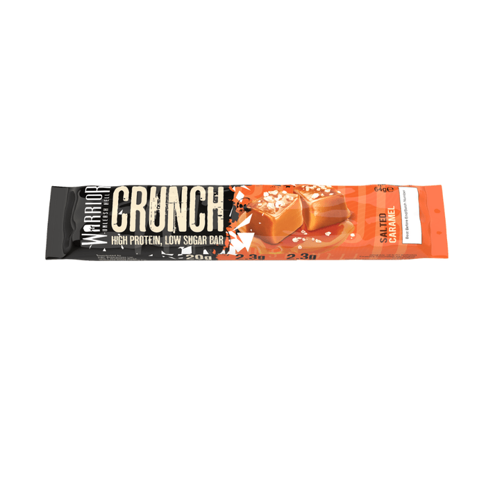 Warrior Crunch Salted Caramel flavour Protein Bar 64g