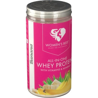 Women's Best All in One Whey Protein, Banana Flavour 500g