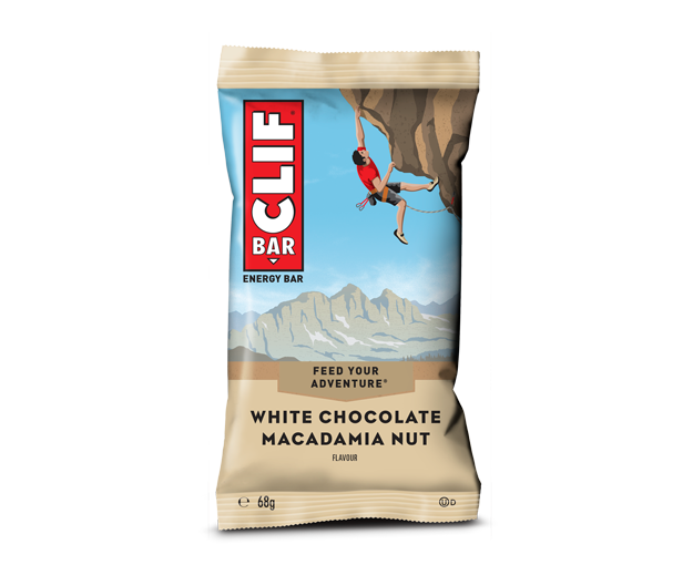 Clif White Chocolate Macadamia Nut flavour Energy bar 68g - Case of 12 Multisave
