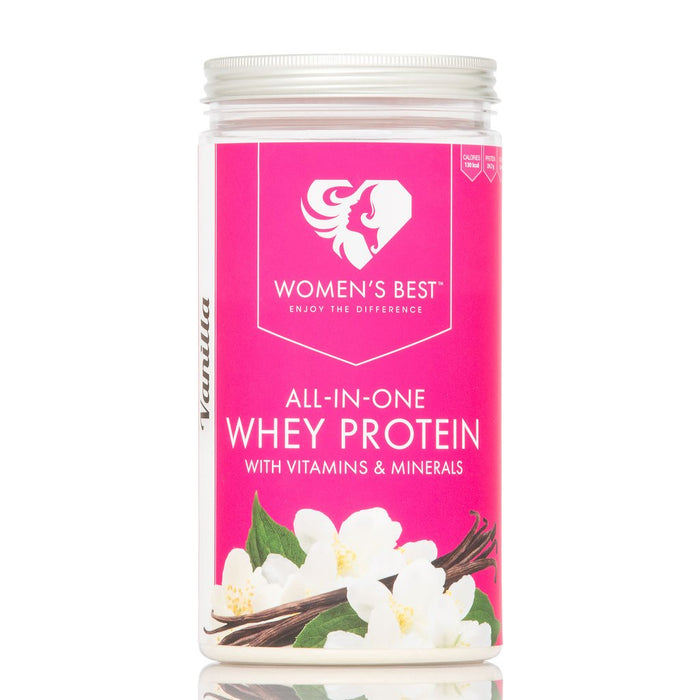 Women's Best All in One Whey, Strawberry Flavour 500g (Best Before Date: 28/02/2019)