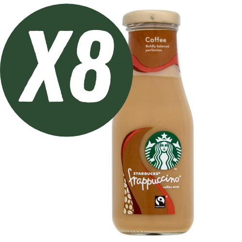 Starbucks Frappuccino Coffee Flavour Drink 250ml - Case of 8 bottles Multisave (Best Before Date: 23/04/2021)