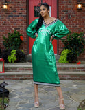 """Emerald City"" T-shirt dress"