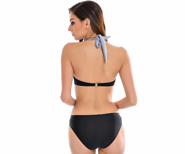 High Waisted Bathing Suit