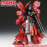 Maha > MG Sazabi etch set