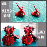 JAO > RG Sazabi use Metal Parts
