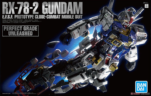 PG Unleashed RX-78-2 Gundam 2.0