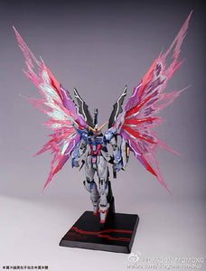 DM > MG Destiny (White Box) + Extra effect Wing + MB Stand Ver.