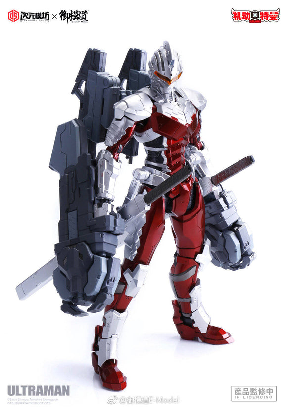 Model Principle > 1/6 Ultraman Suit 7.3 Ver ( assemble model kit )