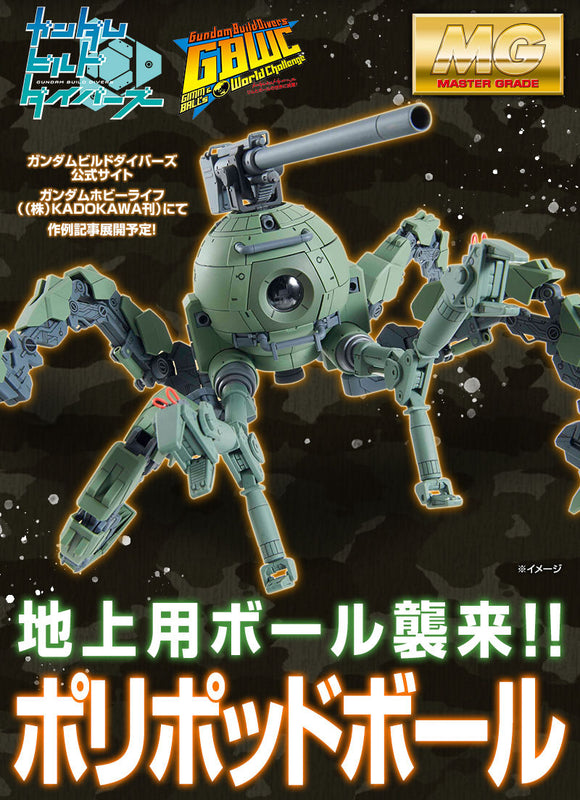 P-Bandai > MG RB-79PP Polypod Ball