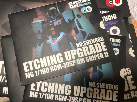 SH Studio - MG GM Sniper II photo etchs