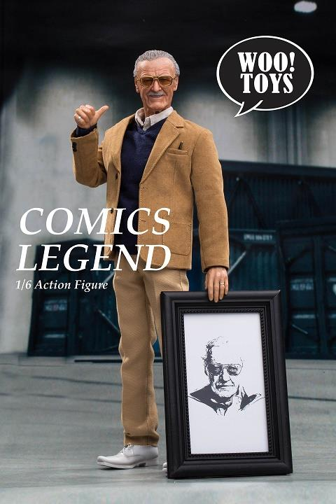 WO-001 WOO Toys 1/6 Comics Legend