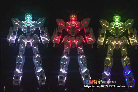 MJH > PG Unicorn LED set w/Clear frame parts (2020 Relaunch Ver.2)