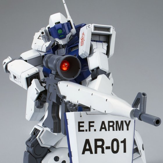 P-Bandai > MG RGM-79SP GM Sniper II (White Dingo)