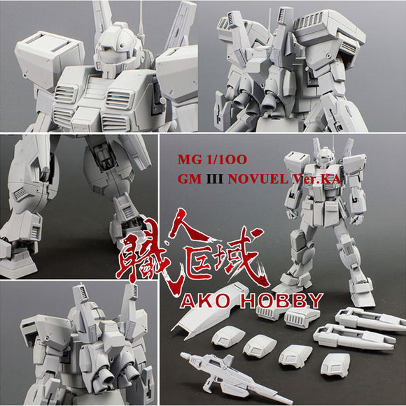 AKO Hobby > MG 1/100 GM III Novuel Ver.Ka Conversion kit