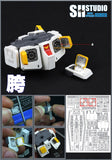 SH Studio - MG GTO ORIGIN RX-78-2 photo etchs