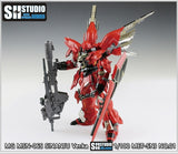 SH Studio - MG Sinanju photo etchs