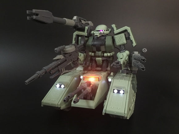 Motorking > MG 1/100 MS-06V Zaku Tank