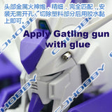 CJ - MG Hi-Nu Gundam Metal Parts (Red Nozzle Version)