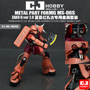 CJ - MG MS-06S Zaku (Char's) Metal Parts