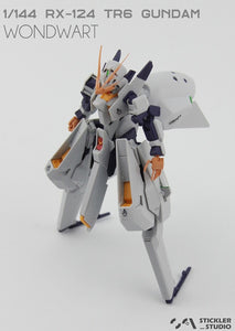 VS > 1/144 TR-6 Angel Horn and Hands (3D print resin kit)