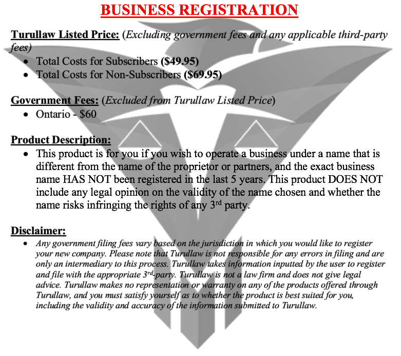 Business Registration - Partnership
