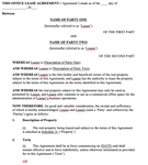 Commercial Property Lease Agreement - Office Space