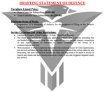 Drafting Statement of Defense - (Flat-Rate)