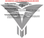 Severance and Notice Package Review - (Non-Subscribers)