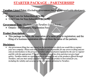 Partnerships - Starter Package